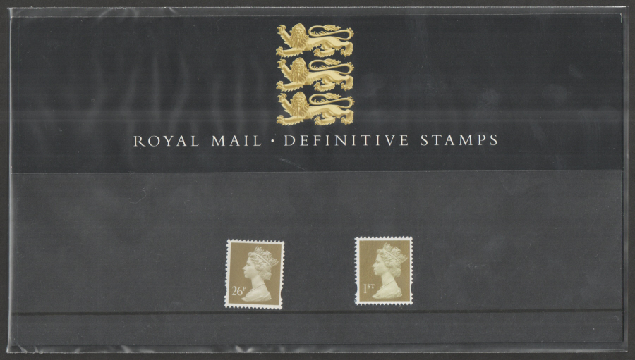 1997 Machin Definitive Royal Mail Presentation Pack 38
