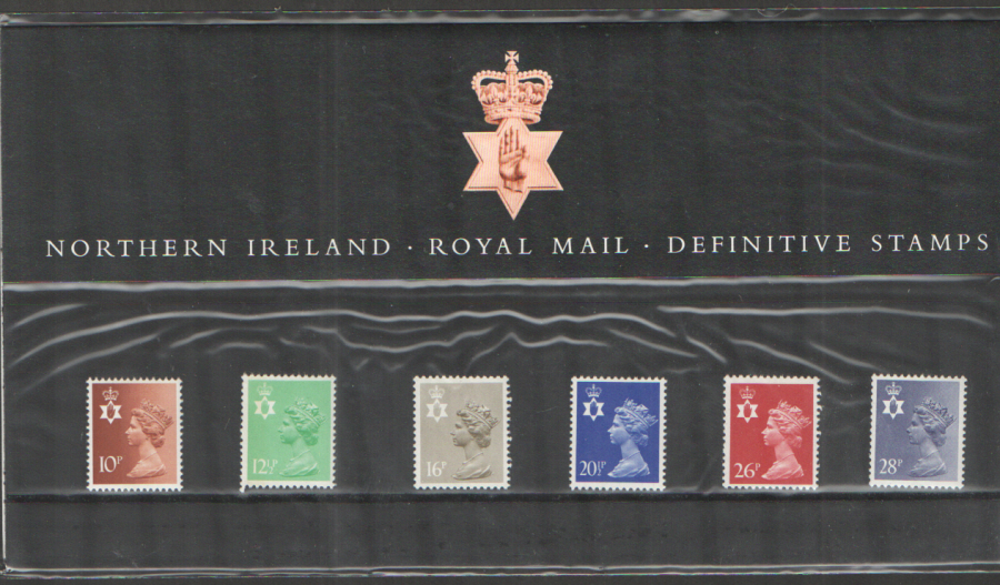 1983 Northern Ireland Definitive Royal Mail Presentation Pack 4