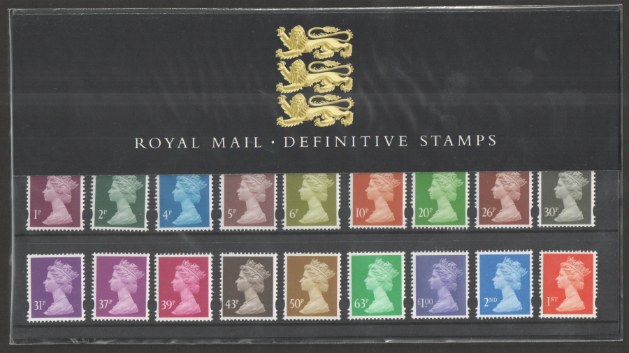 1998 Machin Definitive Royal Mail Presentation Pack 41