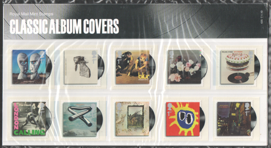 2010 Classic Album Covers Royal Mail Presentation Pack 435