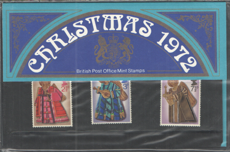 1972 Christmas Royal Mail Presentation Pack 44