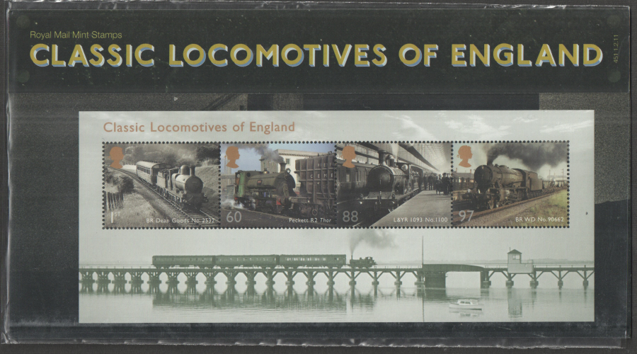 2011 Classic Locomotives of England Presentation Pack 451