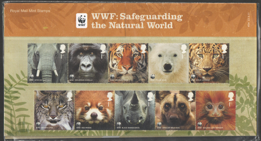 2011 World Wildlife Fund Presentation Pack 454