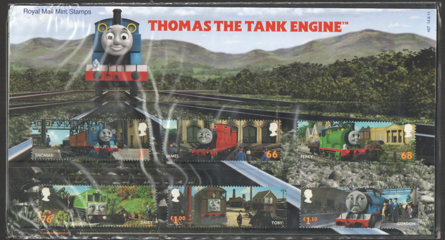 2011 Thomas The Tank Engine Presentation Pack 457