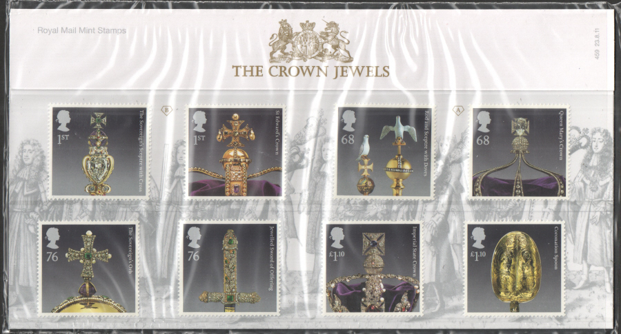 2011 Crown Jewels Presentation Pack 459