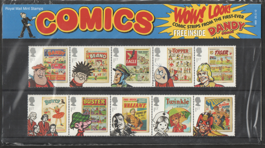 2012 Comics Royal Mail Presentation Pack 469