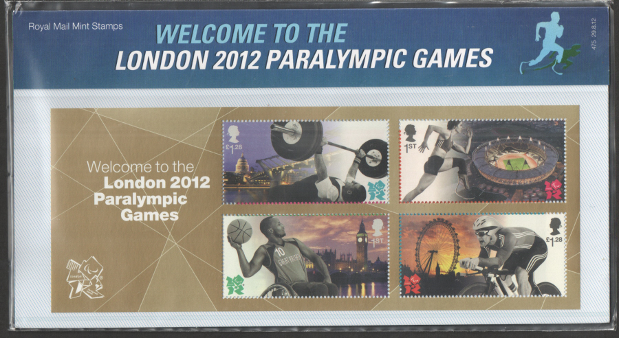 2012 Welcome to London 2012 Paralympics Presentation Pack 475