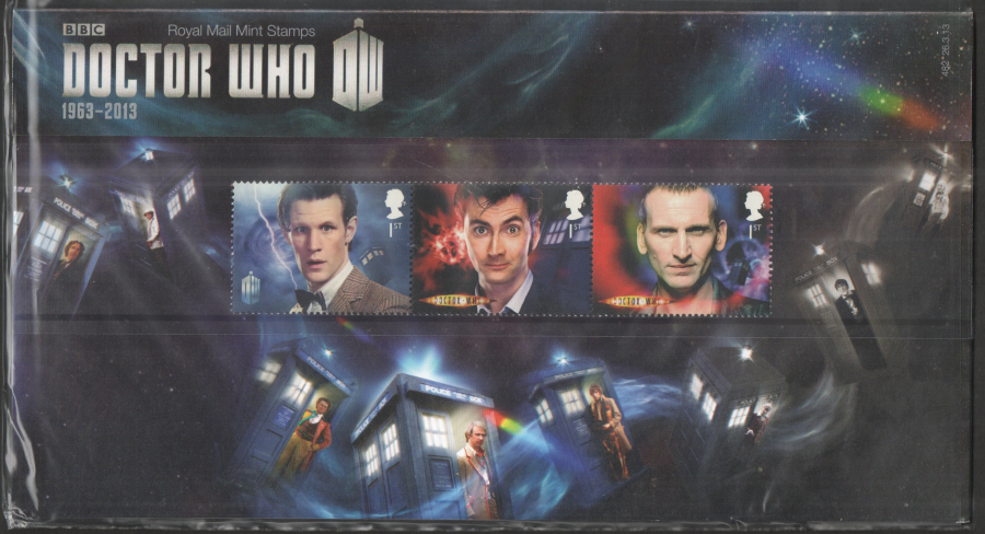 2013 Doctor Who Royal Mail Presentation Pack 482