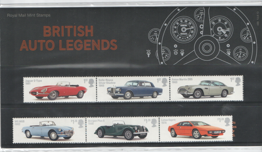 2013 British Auto Legends Royal Mail Presentation Pack 488