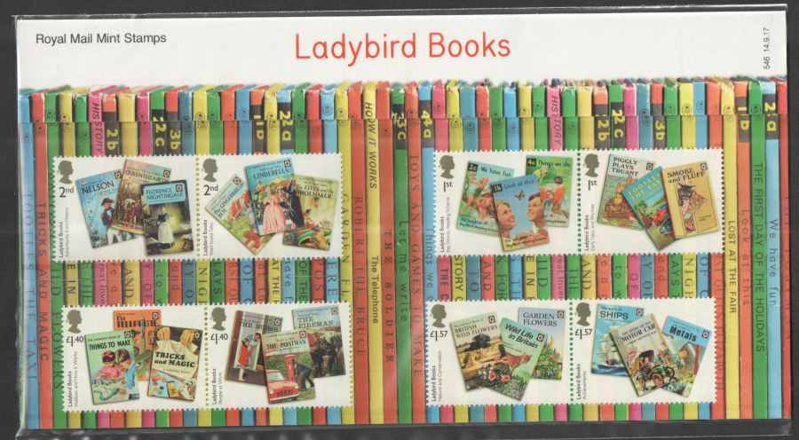 2017 Ladybird Books Royal Mail Presentation Pack 546
