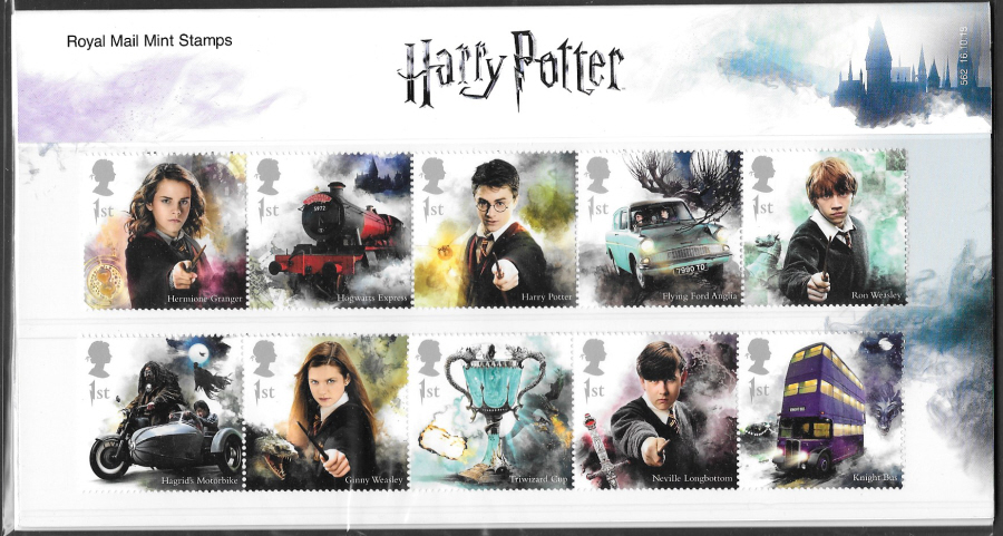 2018 Harry Potter Royal Mail Presentation Pack 562