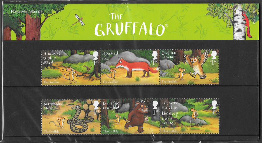 2019 The Gruffalo Royal Mail Presentation Pack 577