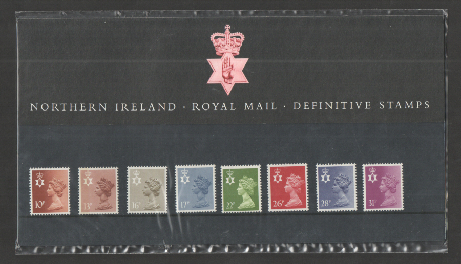 1984 Northern Ireland Definitive Royal Mail Presentation Pack 8