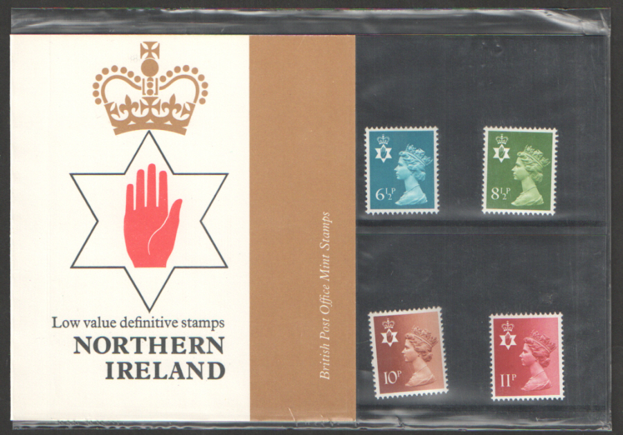 1976 Northern Ireland Definitive Royal Mail Presentation Pack 84