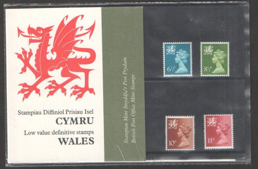 1976 Wales Definitive Royal Mail Presentation Pack 86