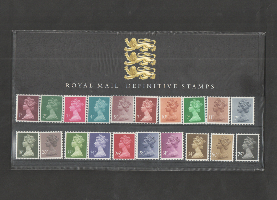 1987 Machin Definitive Royal Mail Presentation Pack 9