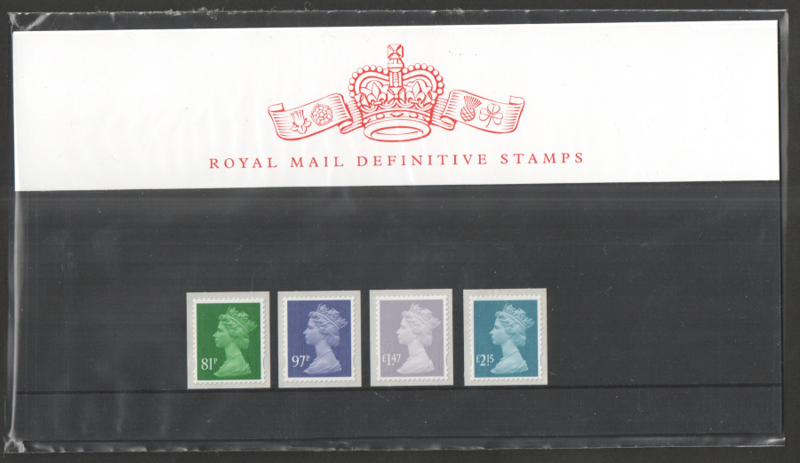 2014 Machin Definitive Royal Mail Presentation Pack 99