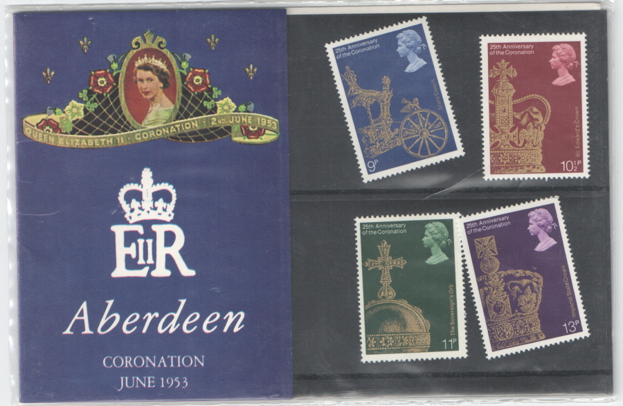 1978 Coronation Anniversary Aberdeen Private Presentation Pack