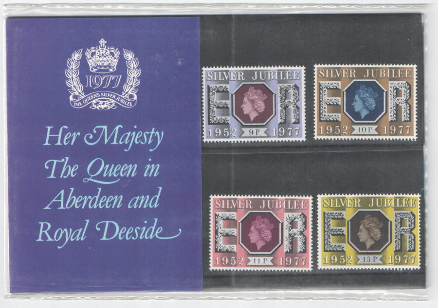 1977 Silver Jubilee Aberdeen Private Presentation Pack