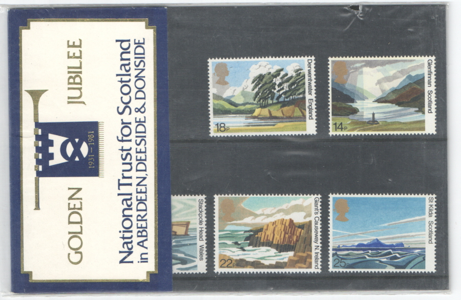 1981 National Trust Aberdeen Private Presentation Pack