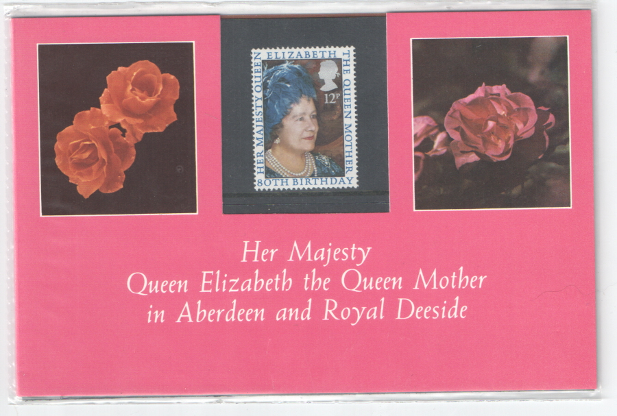 1980 Queen Elizabeth the Queen Mother Aberdeen Private Presentation Pack