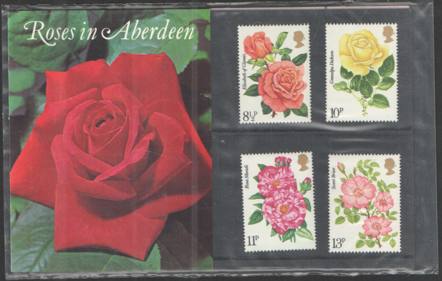 1976 Roses Aberdeen Private Presentation Pack