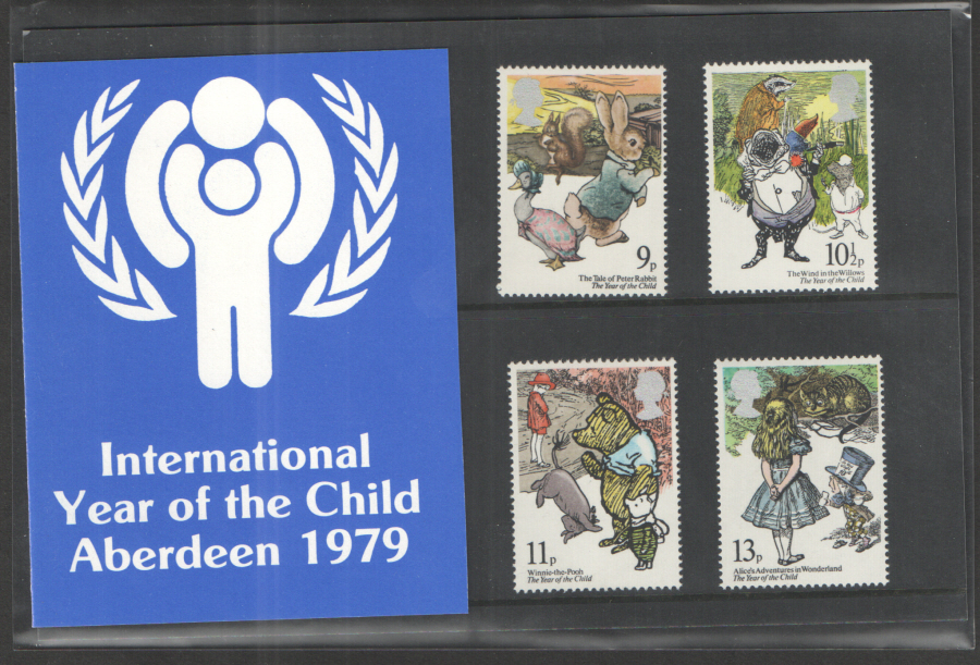 1979 Year of the Child Aberdeen Private Presentation Pack
