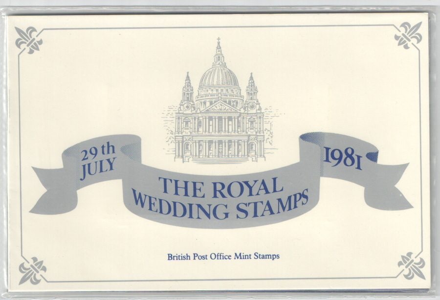 1981 Royal Wedding Cadbury Typhoo Private Presentation Pack