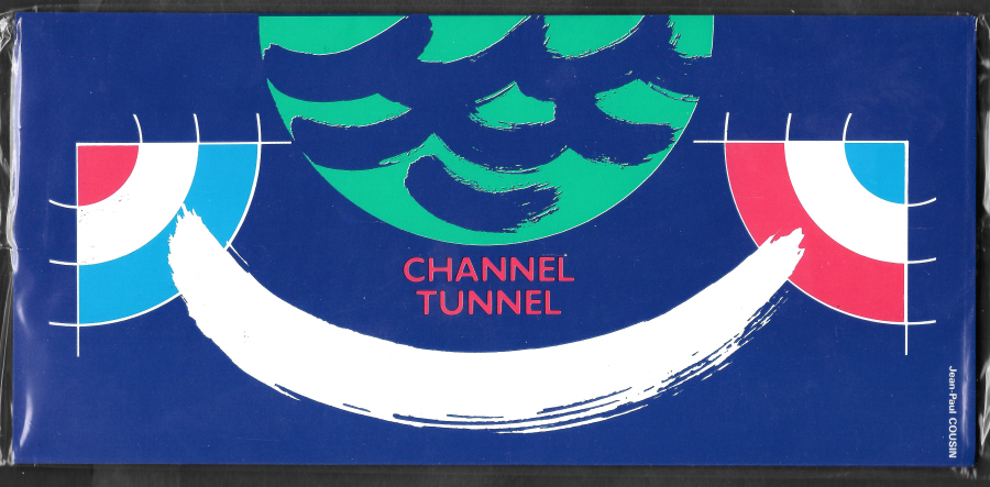 1994 Channel Tunnel Royal Mail & La Poste Joint Issue Sealed Commemorative Pack