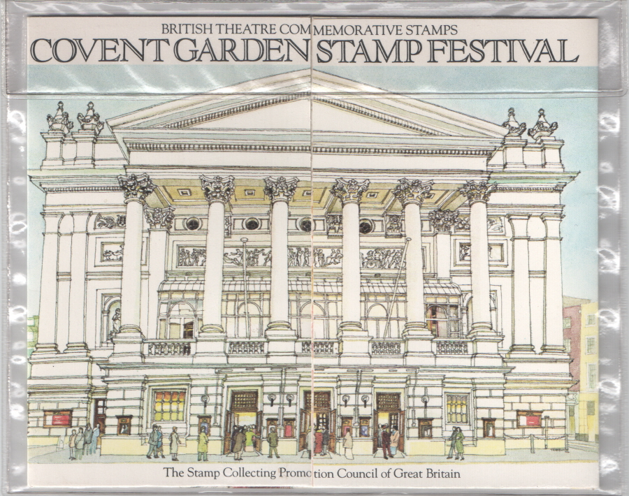 1982 Covent Garden Stamp Festival Private Presentation Pack