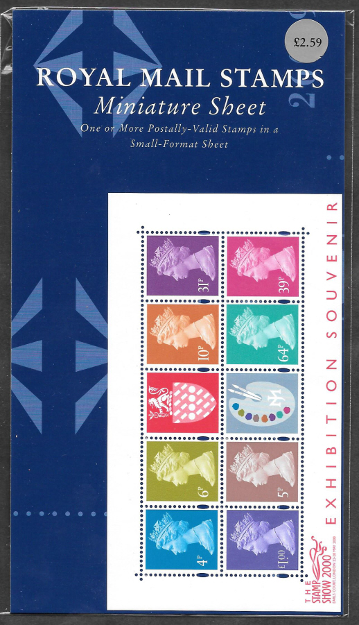 2000 MS2146 Matthews Palette Stamp Show Format Pack
