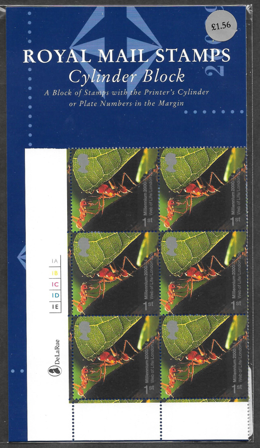 2000 SG2139 Life & Earth 1st Class Stamp Show Format Pack