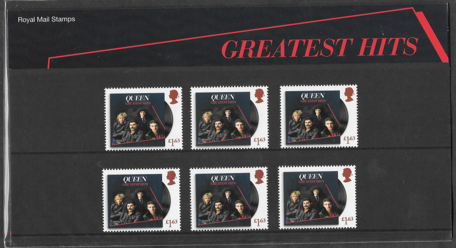 2020 Queen Greatest Hits Royal Mail Souvenir Pack