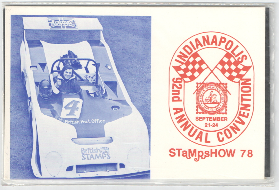 1978 Indianapolis APS Convention Private Presentation Pack