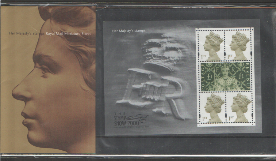 2000 Her Majesty's Stamps Miniature Sheet Presentation Pack M03
