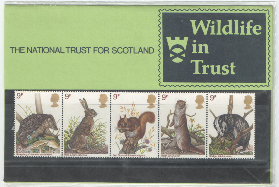 1977 Scottish Wildlife Trust Private Presentation Pack