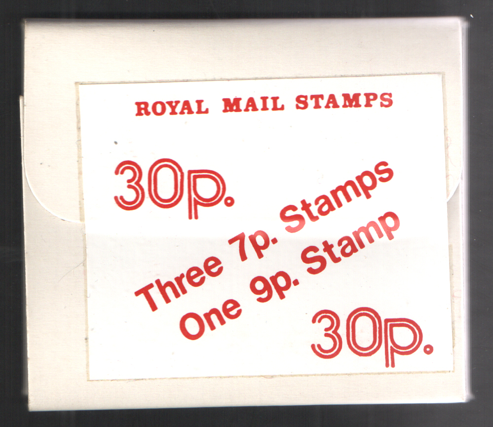 30p Scottish Experimental Stamp Pack Series 2