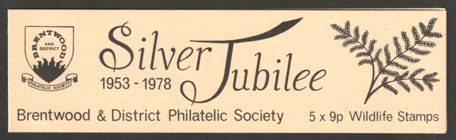 Brentwood Philatelic Society 1978 Privately Produced Booklet