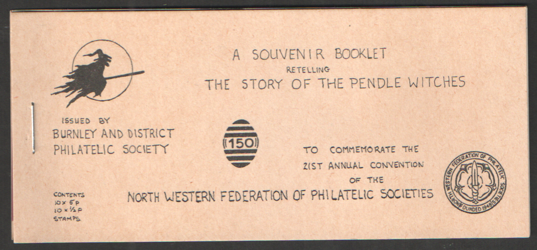 1982 Story of the Pendle Witches Privately Produced Booklet