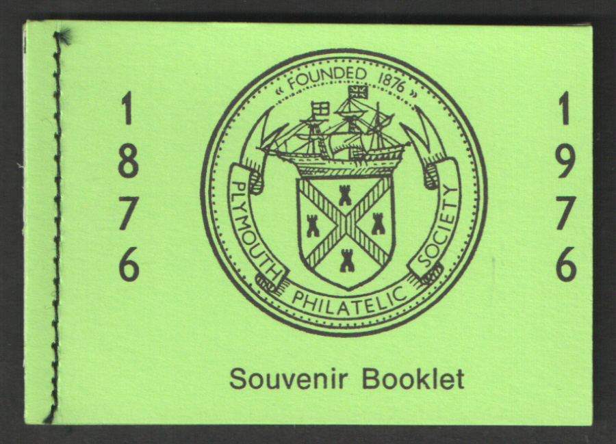 Plymouth Philatelic Society 1976 Privately Produced Booklet