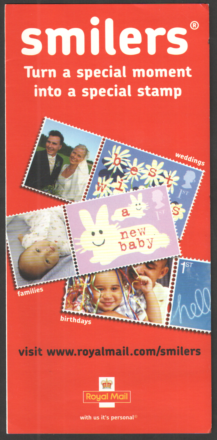 Smilers Royal Mail Promotional Leaflet Code: RMMH053