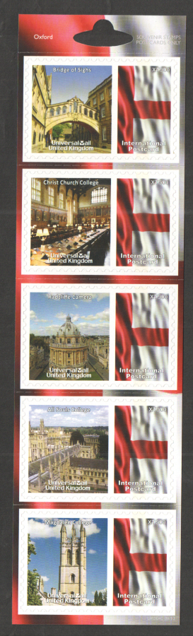 UK0040 Oxford Universal Mail Stamps Dated: 06/12