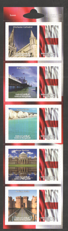 UK0041 Sussex Universal Mail Stamps Dated: 06/12