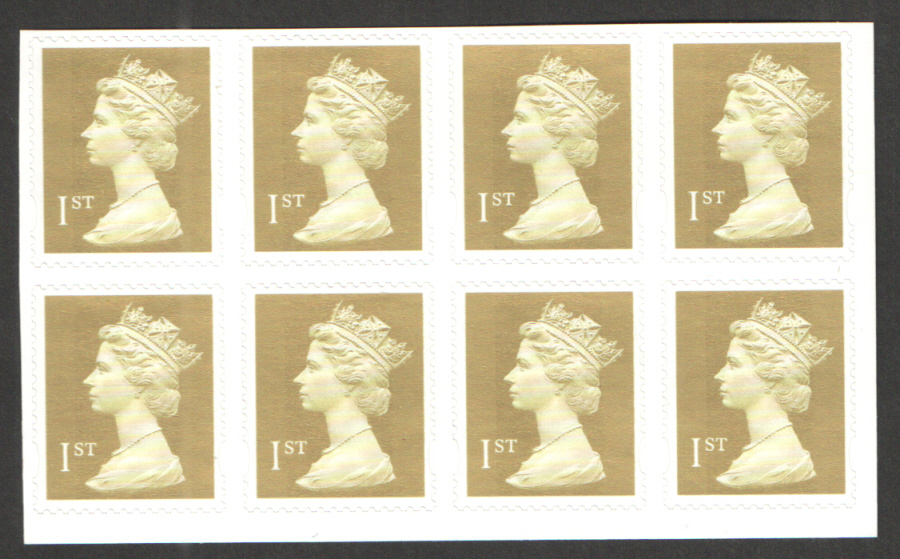 SB7(4) 18/07/02 Enschede 1st Class Business Sheet Date Block of 8 from bottom panel