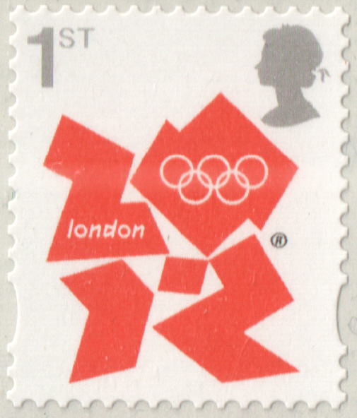 2012 1st Class London Olympics & Paralympics Cylinder D1 D1 C1R2 block of 6
