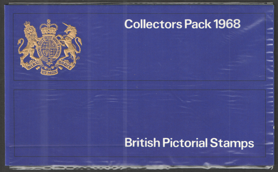 1968 Royal Mail Special Stamps Year Pack - Blue