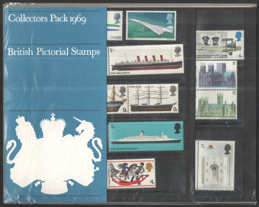 1969 Royal Mail Special Stamps Year Pack
