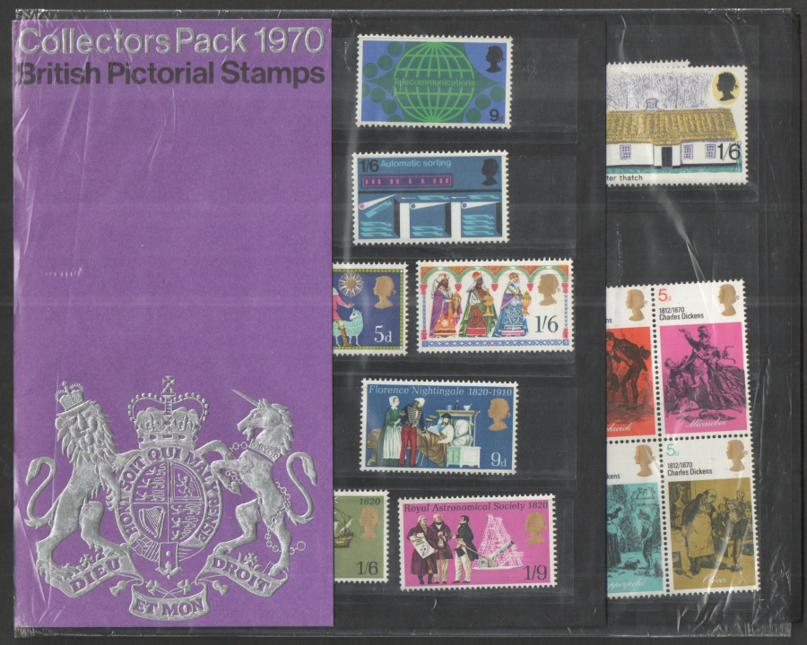 1970 Royal Mail Special Stamps Year Pack