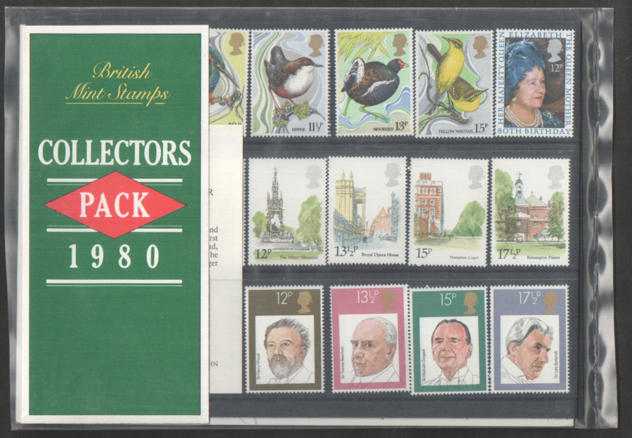 1980 Royal Mail Special Stamps Year Pack