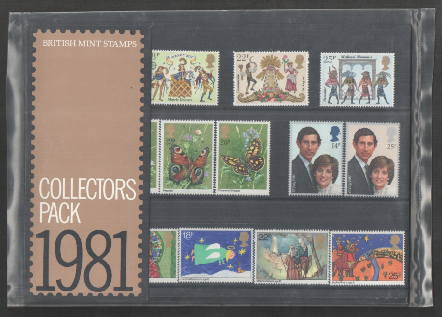 1981 Royal Mail Special Stamps Year Pack